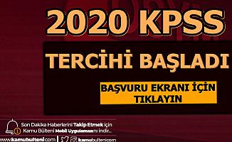 2020'nin İlk KPSS Tercihleri Başladı: Mülakatsız Büro Memuru ve Tekniker Alımı