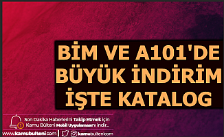 A101 ve Bim'de Büyük İndirimler (23-24 Ocak 2020 Aktüel Ürünler Kataloğu)
