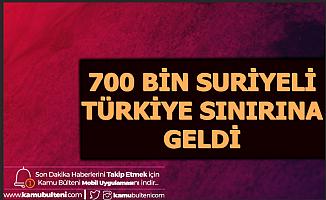 ABD: 700 Bin Suriyeli Türkiye Sınırına Geldi