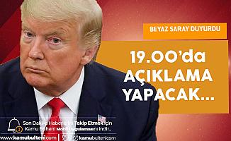 ABD Başkanı Donald Trump'ın İran'a Cevabı Saat 19.00'da Netleşecek!