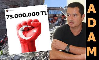 Acun, Depremzedeler İçin Toplanan Parayı Açıkladı