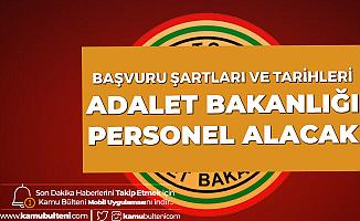 Adalet Bakanlığı'na Sözleşmeli Personel Alımı için Başvuru Süreci Devam Ediyor