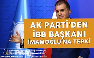 AK Parti'den İBB Başkanı Ekrem İmamoğlu'na Tepki