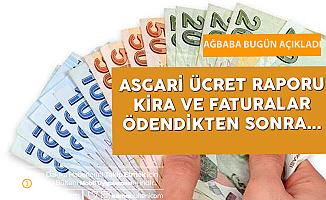 """""""Asgari Ücretliler Kira ve Faturaları Ödediklerinde Ellerinde 573 Lira Kalıyor"""""""
