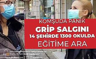 Bulgaristan'da Grip Alarmı: 14 Şehirde 1300 Okulda Eğitime Ara Verildi