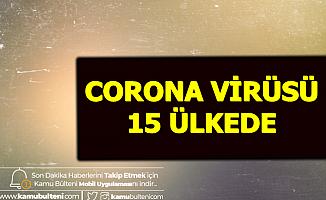 Corona Virüsü 15 Ülkede-İşte O Ülkeler, Ölü Sayısı ve Virüs Belirtileri