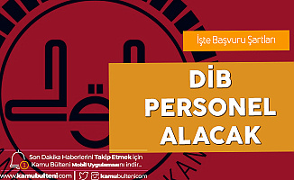 Diyanet İşleri Başkanlığı Personel Alımı Başvuruları 20 Ocak'a Kadar Devam Edecek