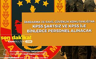 Duyuru Yayımlandı: Jandarma Genel Komutanlığı ve Sahil Güvenlik Komutanlığı'na KPSS Şartsız ve KPSS Puanlarıyla Astsubay Alımı Yapılacak!