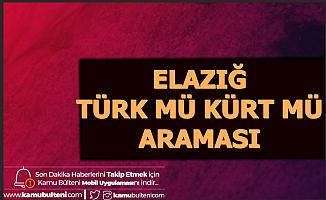 Elazığ Kürt mü Türk mü? Araması Google Trendlerinde