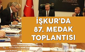 İŞKUR'da Meslek Danışma Komisyon Toplantısı
