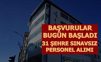 İŞKUR'dan İş İlanları: 31 Şehre Sınavsız Personel Alımı