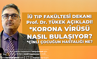 İstanbul'daki Koronavirüs İddialarına Tıp Fakültesi Dekanından Yanıt: Çinli Çocuk Gribal Enfeksiyon Geçiriyor
