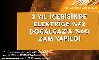 """İYİ Partili Cihan Paçacı """"Elektriğe 2 Yılda %72, Doğalgaz'a 60 Zam Yapıldı! Bu Zamlardan Sonra Vatandaş..."""""""