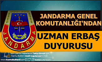 Jandarma Genel Komutanlığı'ndan Uzman Erbaş Duyurusu-Komando Asayiş
