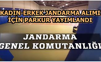 Kadın-Erkek Jandarma Alımı İçin Parkur Videosu Yayımlandı 2020
