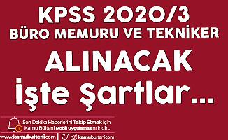 KPSS 2020/3 ile Sözleşmeli Kamu Personeli Alımı için Tercihler 15 Ocak'ta Sona Eriyor! İşte Mezuniyet ve Diğer Şartlar