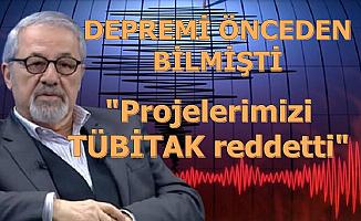 """Naci Görür: """"Depremler İçin Proje Hazırladık Ama TÜBİTAK Reddetti"""""""