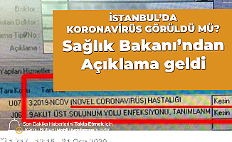 Türkiye'de İlk Koronavirüs İddiası! 'Kesin Tanı' Olarak Yanlışlıkla İşaretlenmiş