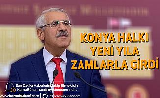 Yeni Yılla Beraber Konya'da Ulaşım ve Su Ücretlerine Zam Geldi!
