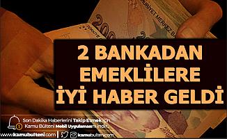 2 Bankadan Emeklilere Müjdeli Haber (Promosyon Ödemesi Ne Zaman 2020?)