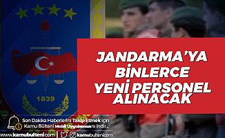 3 Bin 550 Jandarma Astsubay Alımı için Başvurularda Son Saatlere Girildi