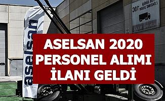 ASELSAN 2020 Yılı Personel Alımı İlanı Yayımlandı-İşte Başvuru Formu