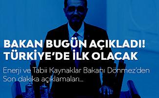 Bakan Dönmez: Türkiye'de Bir İlk Olacak! Ankara'da Açılıyor...