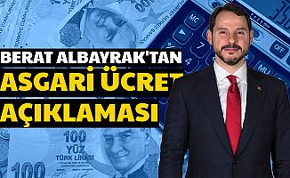 Berat Albayrak'tan Asgari Ücret Açıklaması 2020
