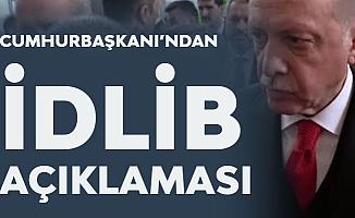 Cumhurbaşkanı Erdoğan: İdlib'deki Süreci Putin ile Değerlendirdik