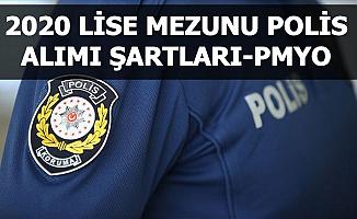 Lise Mezunu 2500 Kadın Erkek Polis Alımı Başvurusu Başlıyor: İşte Şartlar PMYO 2020