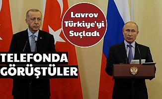 Erdoğan ile Putin Görüştü: Türkiye'yi Suçladılar
