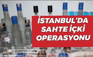 Fatih'te Sahte İçki Operasyonu! 412 Şişe Sahte İçki Ele Geçirildi, Suriyeli Şüpheli Gözaltında