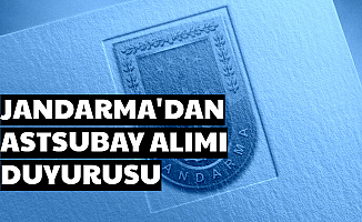 Jandarma'dan Son Dakika Astsubay Alımı Açıklaması