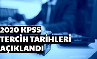 KPSS 2020/1 ve 2020/2 Tercih Tarihleri Açıklandı (KPSS Başvuru ve Sınav Tarihi Lise-Önlisans-Lisans)