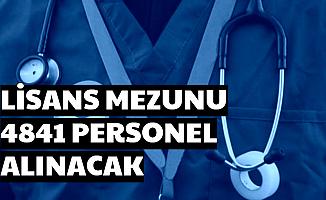 Lisans Mezunu 4841 Mülakatsız Personel Alımı Yapılacak-Devlet Hastanelerine