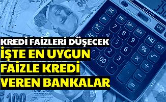 MB Kararı Sonrası Faiz İndirimi Müjdesi Geliyor-İşte En Uygun İhtiyaç-Taşıt ve Konut Kredisi Veren Bankalar