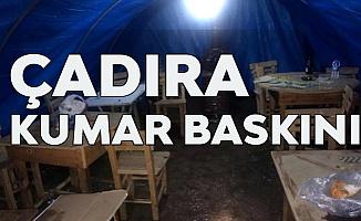 Mersin Silifke'de Kumar Çadırına Şok Baskın