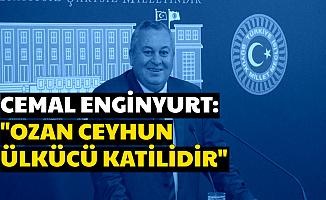 """MHP'li Cemal Enginyurt: """"Ozan Ceyhun Ülkücü Katilidir"""""""