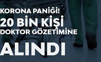 Rusya'da Koronavirüs Paniği! 20 Bin Kişi Doktor Gözetimine Alındı