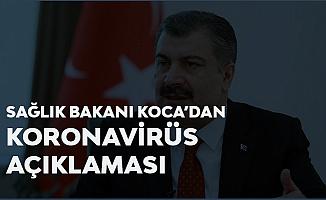Sağlık Bakanı Fahrettin Koca'dan Koronavirüs Açıklaması: 90-120 Dakika İçerisinde Sonuç Veriyor