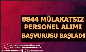 Sağlık Bakanlığı 8844 Personel Alımı Başvurusu Başladı (ÖSYM ais KPSS Tercih Ekranı-Ücreti ve Robotu)