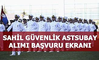 Sahil Güvenlik 175 Astsubay Alımı Başvuru Ekranı (Vatandaş Jandarma Giriş)