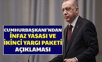 Son Dakika: Cumhurbaşkanı Erdoğan'dan Yargı Paketi ve Mahkumlar Af Açıklaması 2020