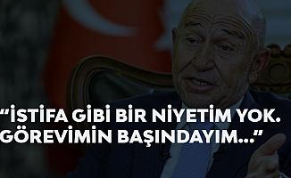 TFF Başkanı Nihat Özdemir'den 'İstifa' İddialarına Yanıt: Niyetim Yok