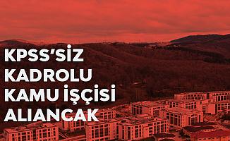 Türk Alman Üniversitesi'ne İŞKUR üzerinden Kadrolu Kamu İşçisi Alımı Yapılacak
