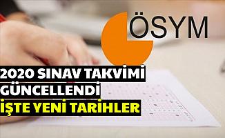 2020 ÖSYM Sınav Takvimi Güncellendi (KPSS-DGS-MSÜ-YKS-EKPSS-YDS-ALES)
