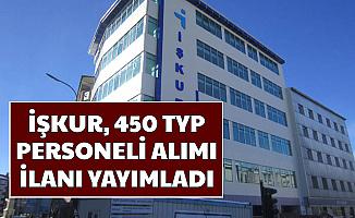 450 TYP Personeli Alımı Başvurusu Başladı 2020