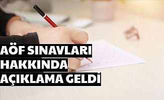 Açıköğretim Sınavları Hakkında Son Dakika Açıklaması AÖF
