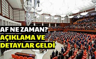 Af Ne Zaman Gelecek , MHP Tarih Verdi Kimler Faydalanacak?