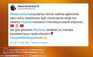 AK Partili Vekilden Koronavirüs Paylaşımı: 3 Çocuk...